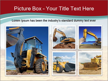Huge Excavator PowerPoint Templates - Slide 19