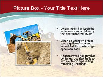 Huge Excavator PowerPoint Templates - Slide 20