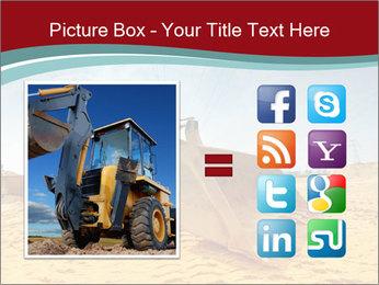 Huge Excavator PowerPoint Templates - Slide 21