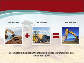 Huge Excavator PowerPoint Templates - Slide 22