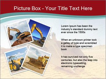 Huge Excavator PowerPoint Templates - Slide 23