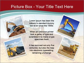 Huge Excavator PowerPoint Templates - Slide 24