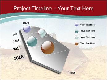 Huge Excavator PowerPoint Templates - Slide 26
