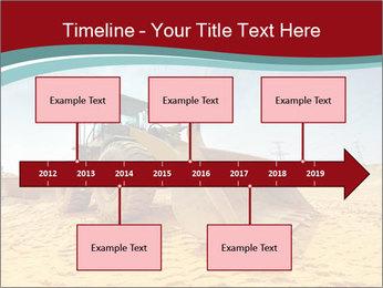Huge Excavator PowerPoint Templates - Slide 28