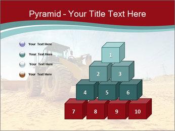 Huge Excavator PowerPoint Templates - Slide 31