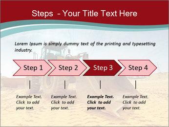Huge Excavator PowerPoint Templates - Slide 4