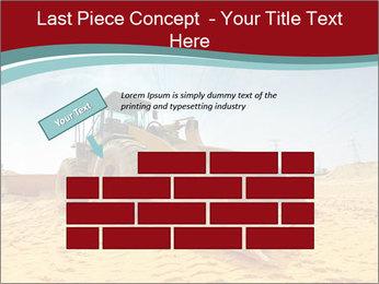 Huge Excavator PowerPoint Templates - Slide 46