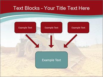 Huge Excavator PowerPoint Templates - Slide 70