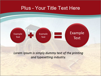 Huge Excavator PowerPoint Templates - Slide 75