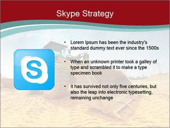 Huge Excavator PowerPoint Templates - Slide 8