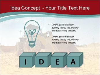 Huge Excavator PowerPoint Templates - Slide 80