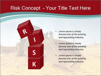 Huge Excavator PowerPoint Templates - Slide 81
