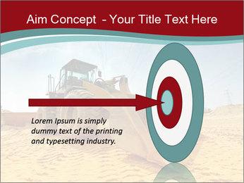Huge Excavator PowerPoint Templates - Slide 83