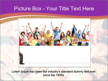 Students Group PowerPoint Template - Slide 16
