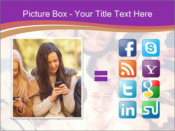Students Group PowerPoint Templates - Slide 21