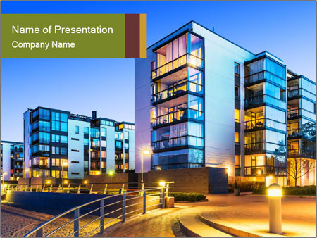 Urban houses powerpoint template backgrounds id 0000091273 urban houses powerpoint templates toneelgroepblik Gallery