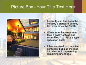 Urban Houses PowerPoint Template - Slide 13