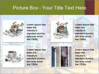 Urban Houses PowerPoint Template - Slide 14