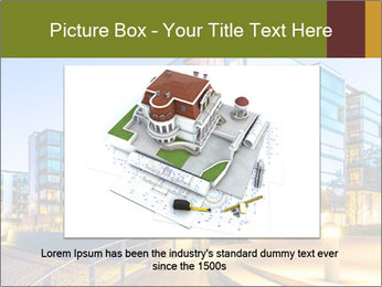 Urban Houses PowerPoint Template - Slide 15