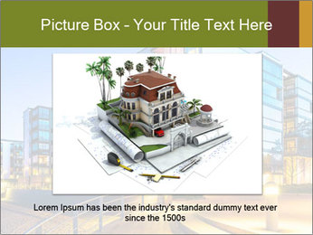 Urban Houses PowerPoint Template - Slide 16