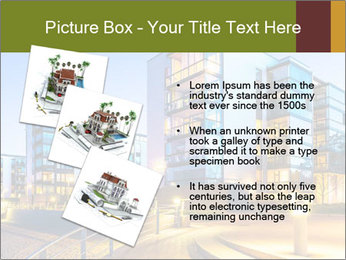 Urban Houses PowerPoint Template - Slide 17