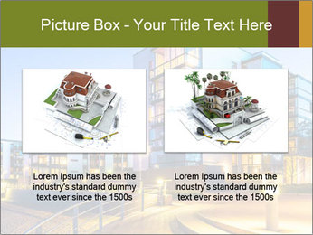 Urban Houses PowerPoint Template - Slide 18