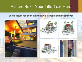 Urban Houses PowerPoint Template - Slide 19