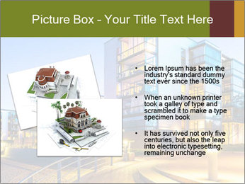 Urban Houses PowerPoint Template - Slide 20