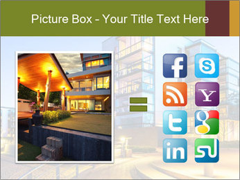 Urban Houses PowerPoint Template - Slide 21