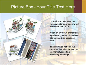 Urban Houses PowerPoint Template - Slide 23