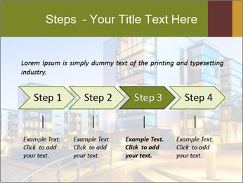 Urban Houses PowerPoint Template - Slide 4