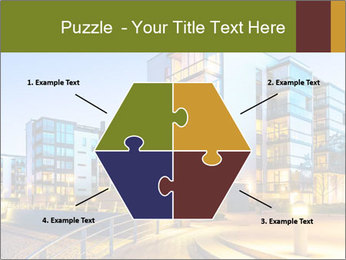 Urban Houses PowerPoint Template - Slide 40