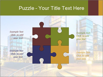 Urban Houses PowerPoint Template - Slide 43