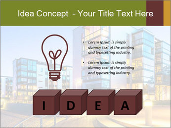Urban Houses PowerPoint Template - Slide 80