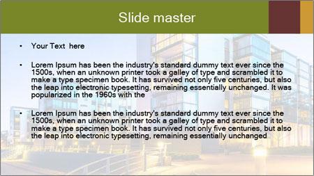 Urban Houses PowerPoint Template - Slide 2
