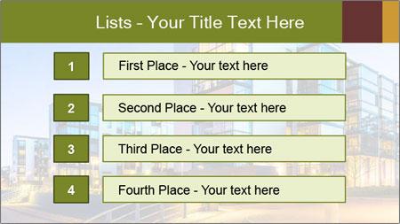 Urban Houses PowerPoint Template - Slide 3