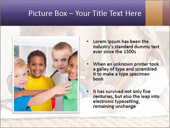 Kids Painting Together PowerPoint Templates - Slide 13