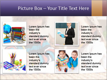 Kids Painting Together PowerPoint Template - Slide 14