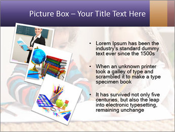 Kids Painting Together PowerPoint Templates - Slide 17