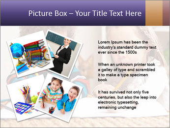 Kids Painting Together PowerPoint Template - Slide 23
