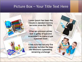 Kids Painting Together PowerPoint Template - Slide 24