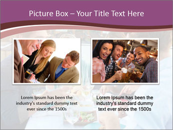 Friends Having Lunch Together PowerPoint Templates - Slide 18