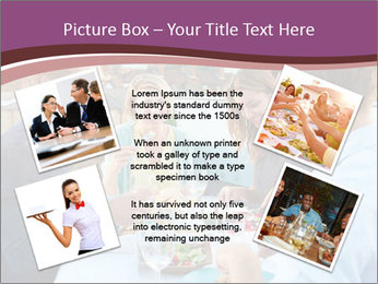 Friends Having Lunch Together PowerPoint Templates - Slide 24