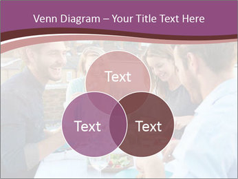 Friends Having Lunch Together PowerPoint Templates - Slide 33