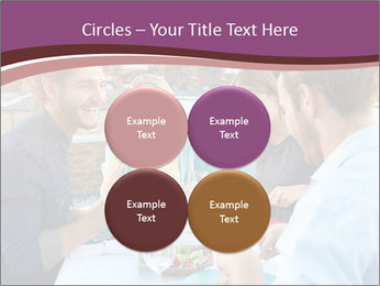 Friends Having Lunch Together PowerPoint Templates - Slide 38
