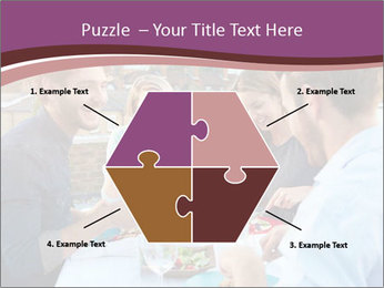 Friends Having Lunch Together PowerPoint Templates - Slide 40
