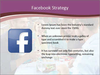 Friends Having Lunch Together PowerPoint Templates - Slide 6