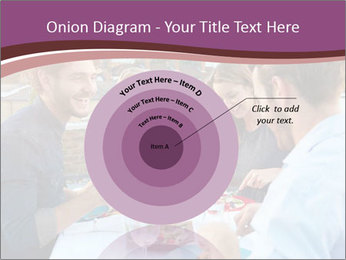 Friends Having Lunch Together PowerPoint Templates - Slide 61