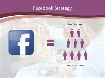 Friends Having Lunch Together PowerPoint Templates - Slide 7