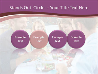 Friends Having Lunch Together PowerPoint Templates - Slide 76